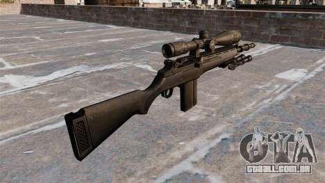 O rifle semi-automático M14 para GTA 4 segundo screenshot