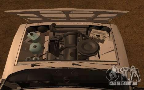 DPS VAZ 2106 para GTA San Andreas vista traseira
