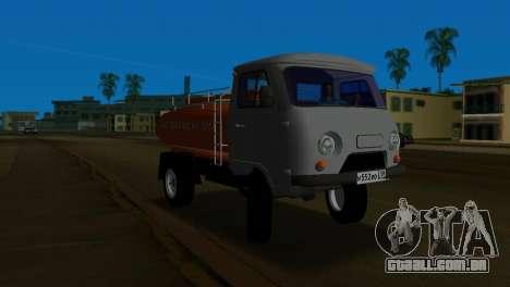 UAZ 465 caminhão para GTA Vice City deixou vista