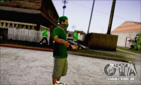 Lamar Davis GTA V para GTA San Andreas terceira tela