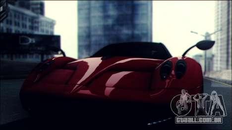 Sonic Unbelievable Shader v7 para GTA San Andreas por diante tela