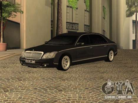 Maybach 62 V2.0 para GTA San Andreas