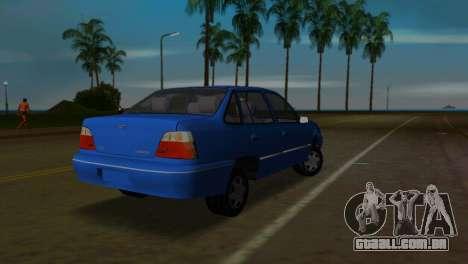 Daewoo Cielo para GTA Vice City deixou vista