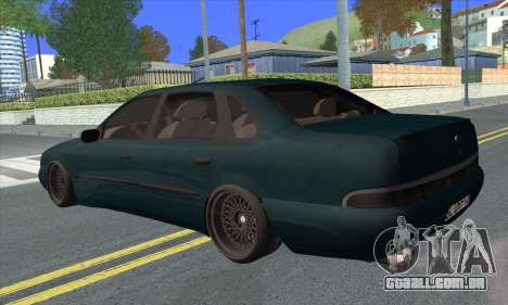 Ford Scorpio MkII V8 para GTA San Andreas esquerda vista