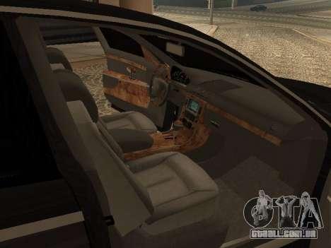 Maybach 62 V2.0 para GTA San Andreas vista direita