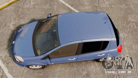 Renault Clio III Phase 2 para GTA 4 vista direita
