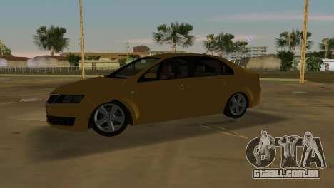 Skoda Rapid 2013 para GTA Vice City deixou vista