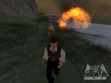 Um mito sobre o pescador para GTA San Andreas quinto tela