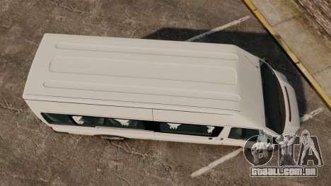 Ford Transit Passenger para GTA 4 vista direita