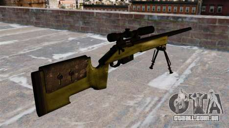 Rifle sniper M40A3 para GTA 4 segundo screenshot