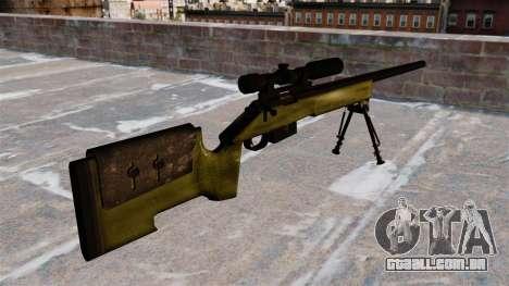Rifle sniper M40A3 para GTA 4 segundo screenshot