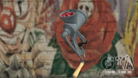 Moedor de carne para GTA San Andreas segunda tela