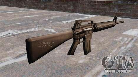 Semi-automático rifle AR-15 Armlite para GTA 4 segundo screenshot
