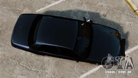 Ford Crown Victoria Stealth [ELS] para GTA 4 vista direita