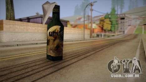 Coquetel Molotov de Max Payne para GTA San Andreas segunda tela