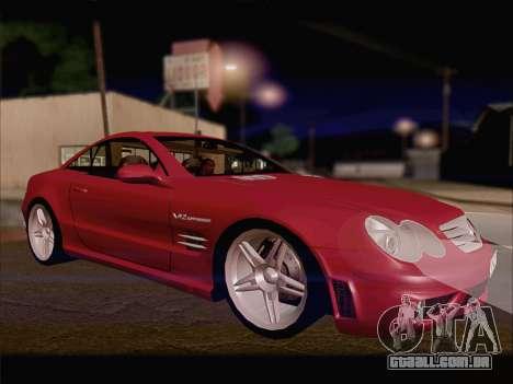 Mercedes SL500 v2 para GTA San Andreas esquerda vista