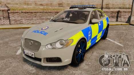 Jaguar XFR 2010 West Midlands Police [ELS] para GTA 4