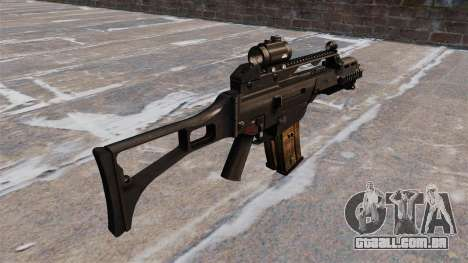 Tactical rifle de assalto HK G36C para GTA 4 segundo screenshot