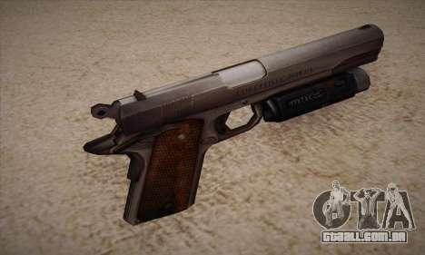 A arma de Left 4 Dead 2 para GTA San Andreas segunda tela