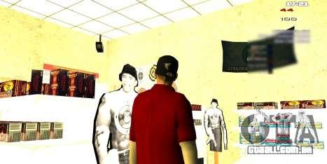 Dois relacionados ao Interior mudar para GTA San Andreas por diante tela