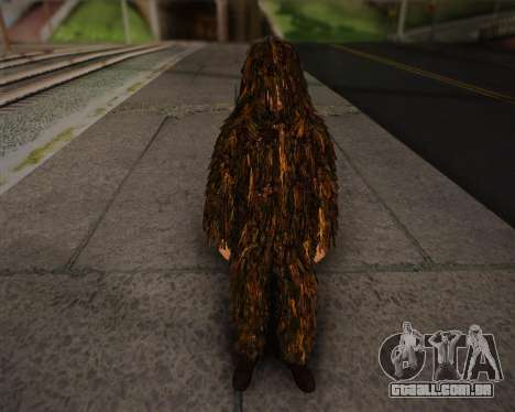 O atirador de pele de Arma 2 para GTA San Andreas
