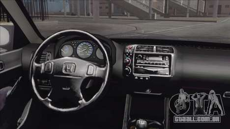 Honda Civic Tuning para GTA San Andreas vista direita