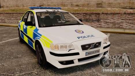 Volvo S60R Police [ELS] para GTA 4