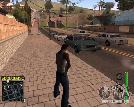 C-HUD v1 para GTA San Andreas segunda tela