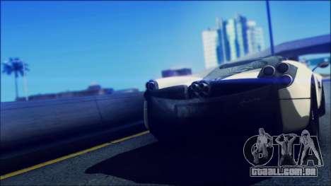 Sonic Unbelievable Shader v7 para GTA San Andreas segunda tela