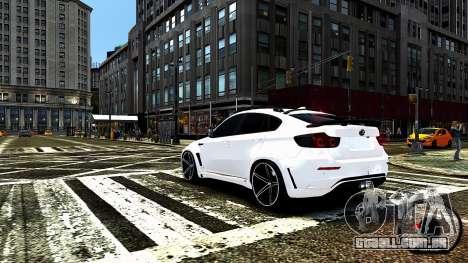 BMW X6 M Hamann 2013 Vossen para GTA 4 motor