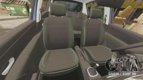 Renault Clio III Phase 2 para GTA 4 vista lateral