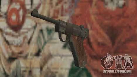 Luger para GTA San Andreas
