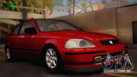 Honda Civic 1.4is TMC para GTA San Andreas