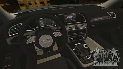 Audi RS4 Avant para GTA 4 vista interior
