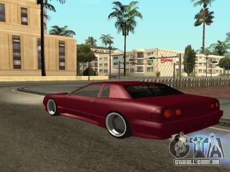 JTX Tuned Elegy para GTA San Andreas traseira esquerda vista