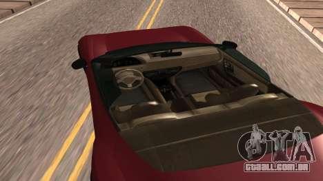 Carbonizzare de GTA 5 para GTA San Andreas traseira esquerda vista