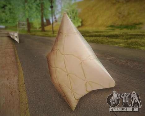 Travesseiro para GTA San Andreas segunda tela