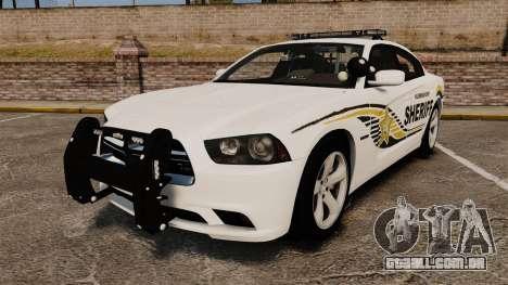 Dodge Charger RT 2012 Police [ELS] para GTA 4