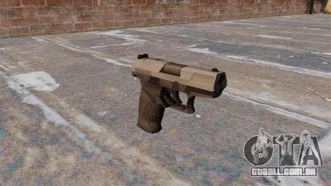 Walther P99 pistola semi-automática MW3 para GTA 4