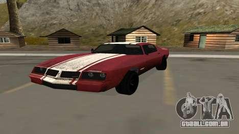 Phoenix de GTA V para GTA San Andreas