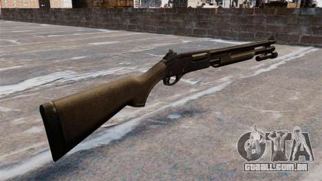 Shotgun da bomba-ação Remington 870 Wingmaster para GTA 4 segundo screenshot