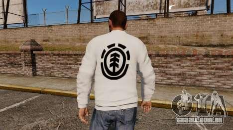 Camisola-elemento - para GTA 4 segundo screenshot