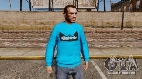 Camisola-banco - para GTA 4
