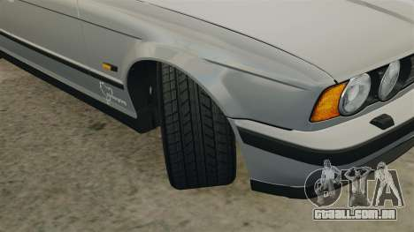 BMW M5 E34 para GTA 4 vista lateral