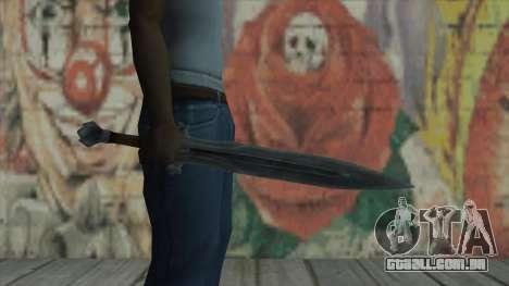 A espada imperial para GTA San Andreas terceira tela