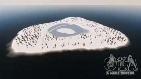 Localização do país das maravilhas do Ártico para GTA 4