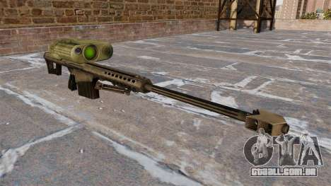 Rifle sniper Barrett M82A3 para GTA 4