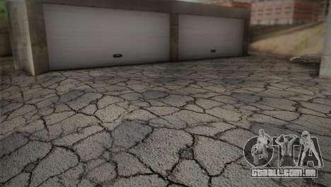Garagem em Dorothy para GTA San Andreas por diante tela