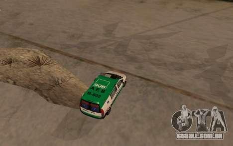 Mercedes-Benz Vito Ambulancia ACHS 2012 para GTA San Andreas vista direita