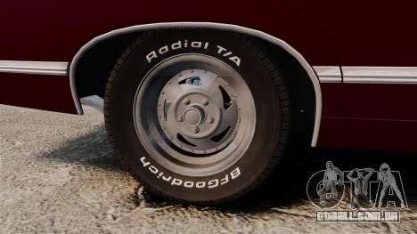 Chevrolet Impala 1967 para GTA 4 vista de volta